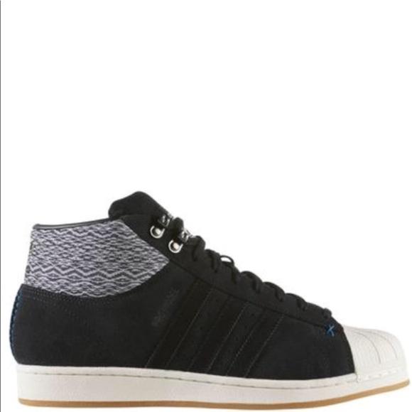 f15bf256b4d Adidas Mens Pro Model BT Sneakers AQ8159 NWT.
